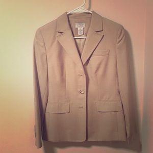 Tan Ann Taylor Suit Jacket
